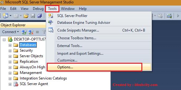 Query shortcuts in SQL Server Management Studio